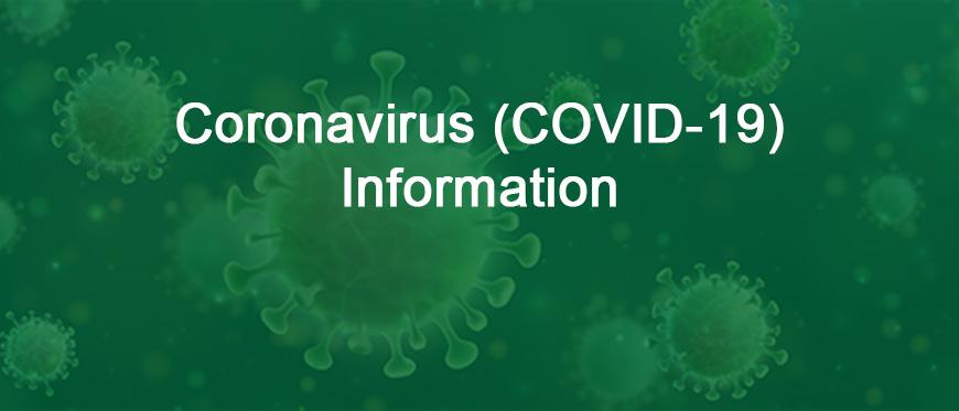 Coronavirus Informational graphic