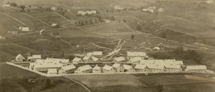 Sloan U.S. Army Hospital in 1863
