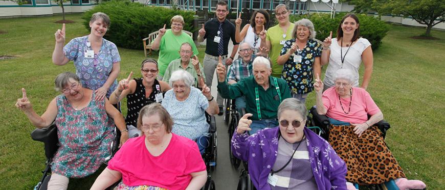 Woodridge Rehabilitation and Nursing home residents