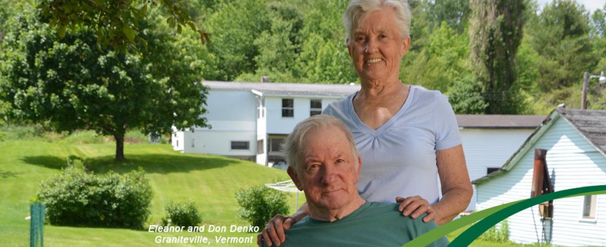 Eleanor and Don Denko, Graniteville, VT