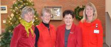 CVMC Auxiliary New Officers