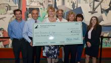 $15,000 check presented to CVMC from National Life Group's Do Good Fest