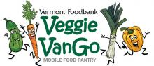 Vermont Foodbank Veggie Vango Logo