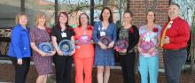 Winners of the Rose Black and LNA Excellence in Clinical Practice Awards